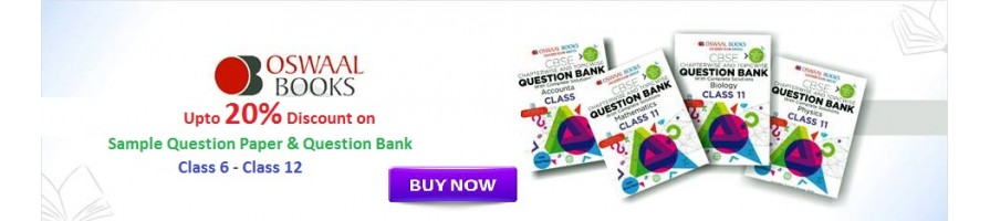 Oswaal Sample Question Paper / Bank