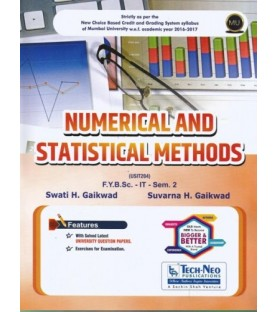 Numerical and Statistical Method Sem 2 B.Sc-IT Tech-neo Publication