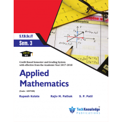 Applied Mathematics Sem 3 SYBSc IT techknowledge Publication