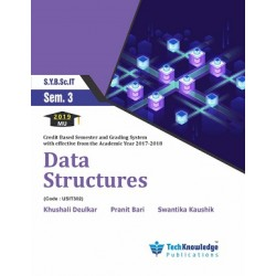 Data Structures Sem 3 SYBSc IT techknowledge Publication