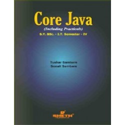 Core Java Sem 4 SYBSc IT Sheth Publication