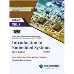 Introduction to Embedded SystemSem 4 SYBSc IT techknowledge Publication