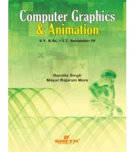 Computer Graphics and Animation Sem 4 SYBSc IT Sheth Publication