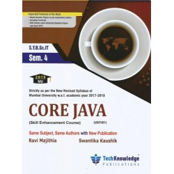 Core Java Sem 4 SYBSc IT techknowledge Publication