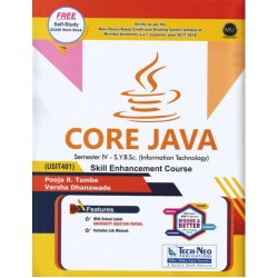 Core Java Sem 4 SYBSc IT techneo Publication