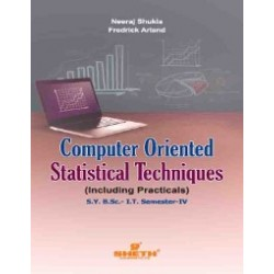 Computer Oriented Statistical Techniques Sem 4 SYBSc IT