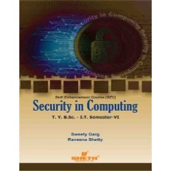 Security in Computing Sem 6  SYBSc-IT Sheth Publication