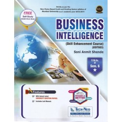 Business Intelligence Sem 6  TYBSc-IT Techneo Publication