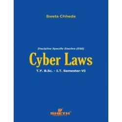 Cyber Law Sem 6  TYBScIT Sheth Publication