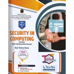 Security in Computing Sem 6  SYBSc-IT Techneo Publication