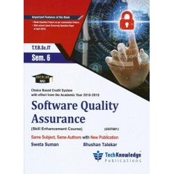 Software Quality Assurance Sem 6  TYBSc-IT Tech-knowledge