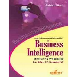Business Intelligence Sem 6  TYBSc-IT Sheth Publication