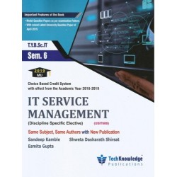 IT Service Management Sem 6  TYBSc-IT Tech-knowledge