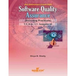 Software Quality Assurance Sem 6  SYBSc IT Sheth Publication