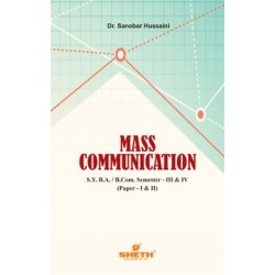 Mass Communication Paper-I & II S.Y.B.A., B.Com Sem 3 & 4