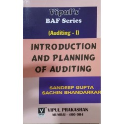 Auditing-II Introduction and Planning FYBAF Sem 2 Vipul