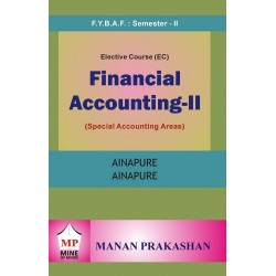 Financial Accounting-II  (Special Accounting Areas) FYBAF