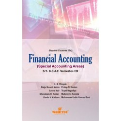 Financial Accounting-III (Special Accounting Areas )SYBAF