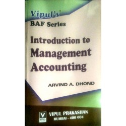 Introduction to Management Accounting SYBAF Sem 4 Vipul