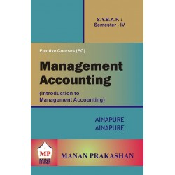 Introduction to Management Accounting SYBAF Sem 4 Manan