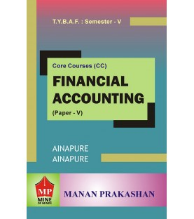 Financial Accounting (Paper V) TYBAF Sem 5 Manan Prakashan
