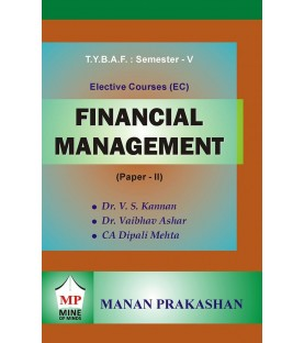 Financial Management (FM-II) TYBAF Sem 5 Manan Prakashan