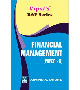 Financial Management (FM-II) TYBAF Sem 5 Vipul Prakashan