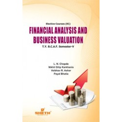 Financial Analysis and Business Valuation TYBAF Sem 5 Sheth