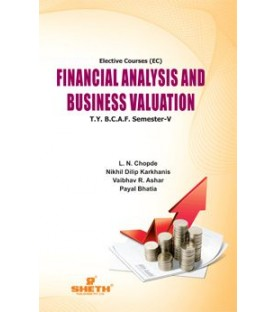Financial Analysis and Business Valuation TYBAF Sem 5 Sheth Publication
