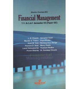 Financial Management (Paper-III) TYBAF Sem 6 Sheth Publication