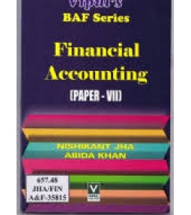 Financial Accounting (Paper-VII) TYBAF Sem 6 Vipul Prakashan