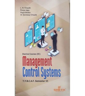 Management Control System TYBAF Sem 6 Sheth Publication