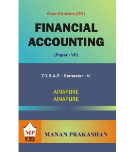 Financial Accounting (Paper-VII) TYBAF Sem 6 Manan Prakashan