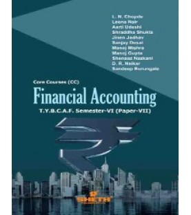 Financial Accounting (Paper-VII) TYBAF Sem 6 Sheth Publication