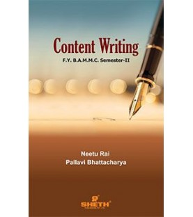 Content Writing FYBAMMC Sem 2 Sheth Publication