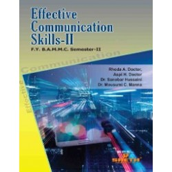 Effective Communication -2 FYBMM Sem 2 Sheth Publication