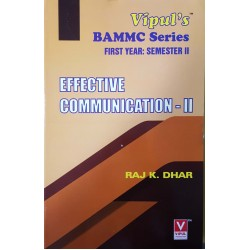 Effective Communication -2 FYBMM Sem 2 Vipul Prakashan