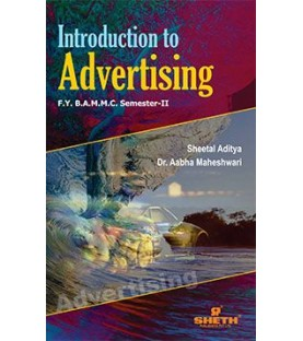 Introduction to Advertising FYBAMMC Sem 2 Sheth Publication