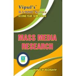 Mass Media Research Sem 4 SYBAMMC Vipul Prakashan