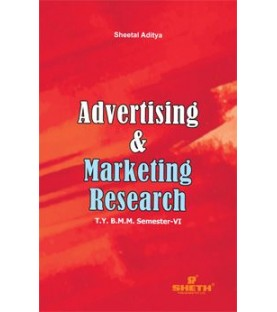 Advertising And Marketing Research TYBAMMC Sem 6 Sheth Publication