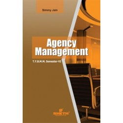Agency Management TYBAMMC Sem 6 Sheth Publication