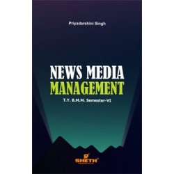 News media Management TYBAMMC Sem 6 Sheth Publication