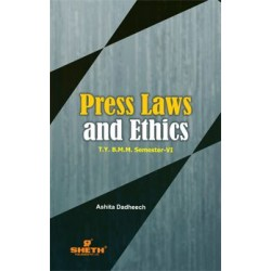 Pree Laws and Ethics TYBAMMC Sem 6 Sheth Publication