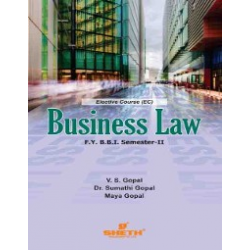 Business Law FYBBI Sem 2 Sheth Publication