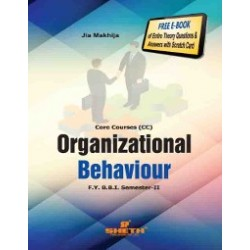 Organisational Behaviour FYBBI Sem 2 Sheth Publication