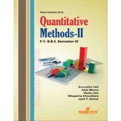 Quantitative Methods – II FYBBI Sem 2 Sheth Publication