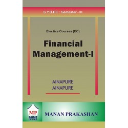 Financial Management-I SYBBI Sem 3 Manan Prakashan