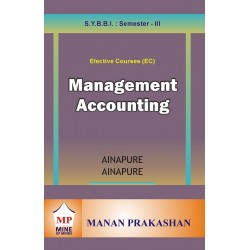 Management Accounting  SYBBI Sem 3 Manan Prakashan