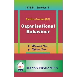 Organisational Behaviour SYBBI Sem 3 Manan Prakashan