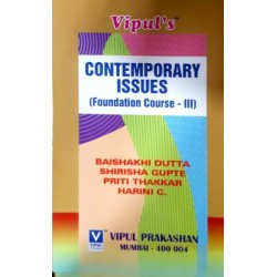 Contemporary Issues (Foundation Course- 3)